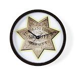 El Dorado County Sheriff Wall Clock