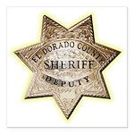 El Dorado County Sheriff Square Car Magnet 3