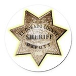 El Dorado County Sheriff Round Car Magnet
