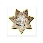 El Dorado County Sheriff Square Sticker 3
