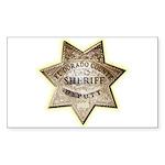 El Dorado County Sheriff Sticker (Rectangle 10 pk)