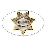 El Dorado County Sheriff Sticker (Oval 10 pk)