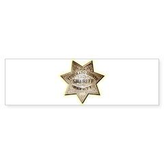 El Dorado County Sheriff Sticker (Bumper 10 pk)