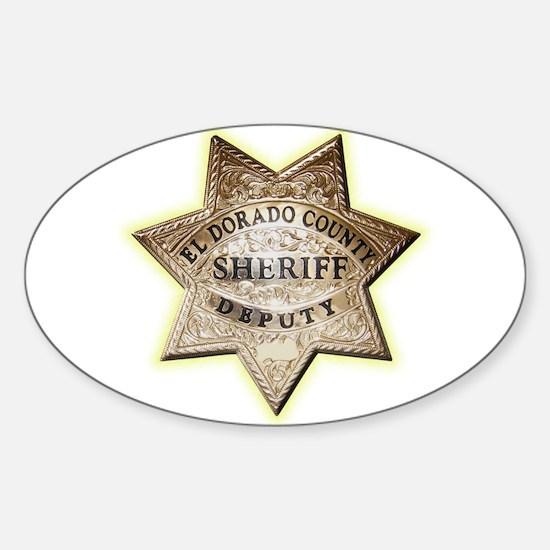 El Dorado County Sheriff Sticker (Oval)