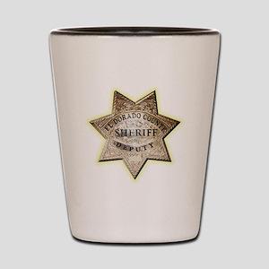 El Dorado County Sheriff Shot Glass