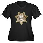 El Dorado County Sheriff Women's Plus Size V-Neck