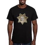 El Dorado County Sheriff Men's Fitted T-Shirt (dar