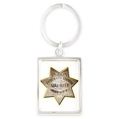 El Dorado County Sheriff Portrait Keychain
