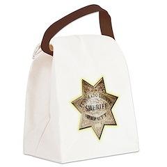 El Dorado County Sheriff Canvas Lunch Bag