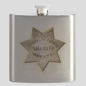 El Dorado County Sheriff Flask