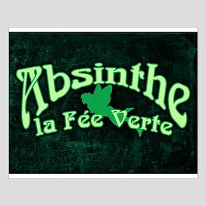 Absinthe La Fee Verte Small Poster