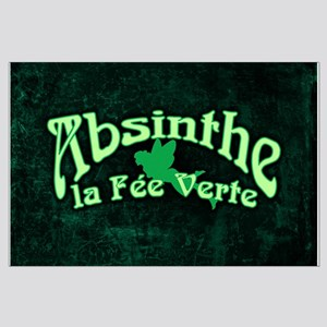 Absinthe La Fee Verte Large Poster