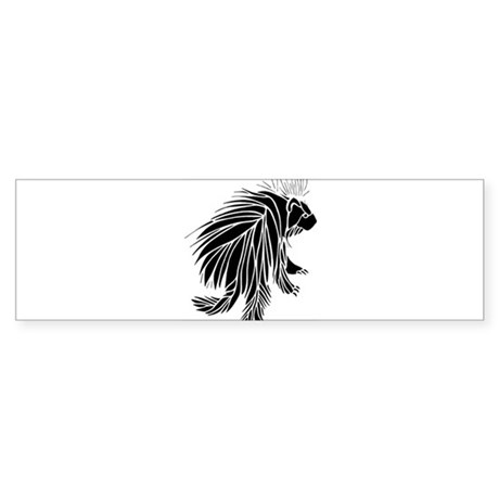 Porcupine Sticker (Bumper)