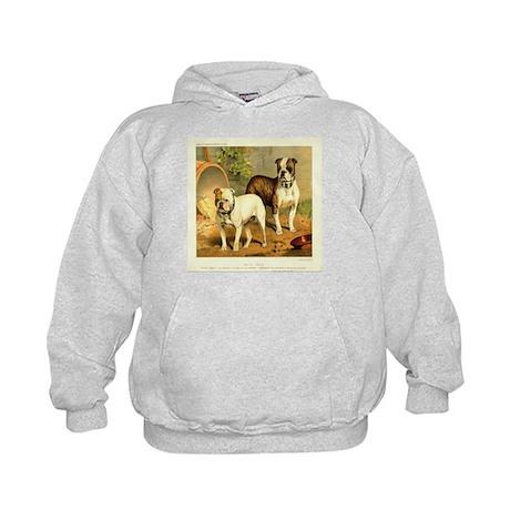Bull Dogs 1880 Digitally Rema Kids Hoodie