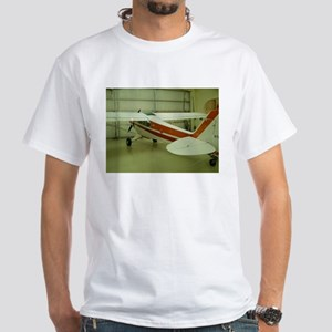 Super Cub Piper Plane White T-Shirt