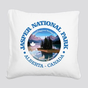 Jasper NP Square Canvas Pillow