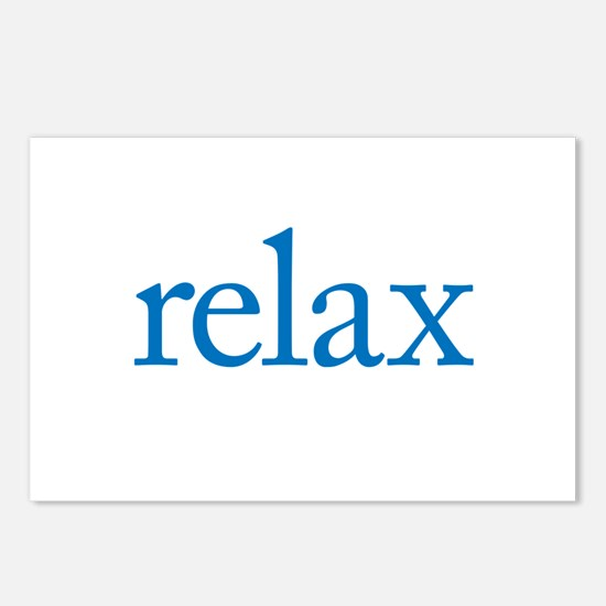 Relax to Garamond Postcards (Package of 8)