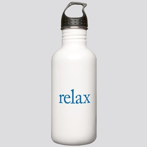 Relax to Garamond Stainless Water Bottle 1.0L