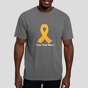 Gold Ribbon Awareness Mens Comfort Colors Shirt