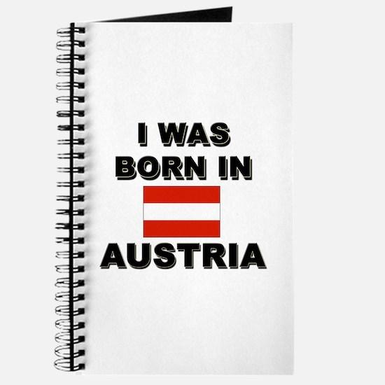 I Was Born In Austria Journal