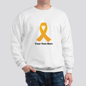 Gold Ribbon Awareness Sweatshirt