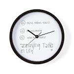 Annoying Tasks Wall Clock