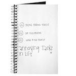 Annoying Tasks Journal