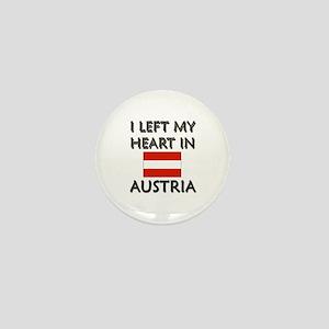 I Left My Heart In Austria Mini Button