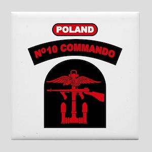 No. 10 Commando ZB B (Red) Tile Coaster