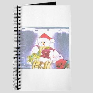 Snowman Wrapper Two. Journal