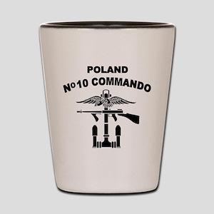 Poland - No 10 Commando - B Shot Glass