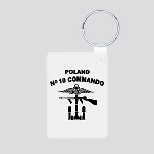 Poland - No 10 Commando - B Aluminum Photo Keychai
