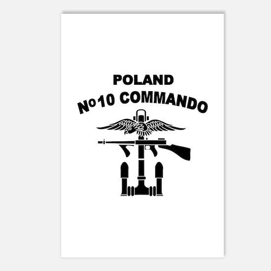Poland - No 10 Commando - B Postcards (Package of