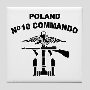 Poland - No 10 Commando - B Tile Coaster