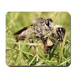 Sacken's Bee Hunter with Prey Mousepad