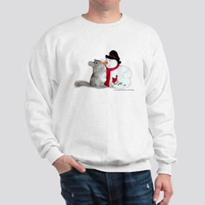 CHinchilla Christmas Sweatshirt