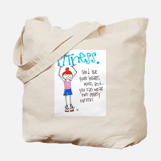 Motivation to Exercise Tote Bag