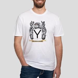 Cunningham Family Crest - Cunningham Coat T-Shirt