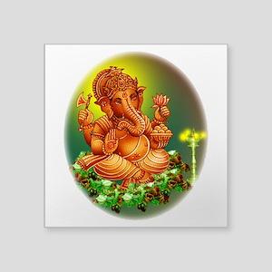 Golden Ganesh Sticker