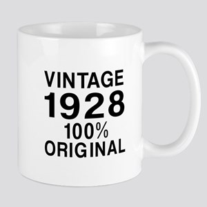 Vintage 1928 Birthday Designs Mug