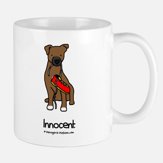 Innocent Patterdale Terrier Mug