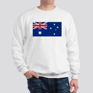 Australia Flag Picture Sweatshirt