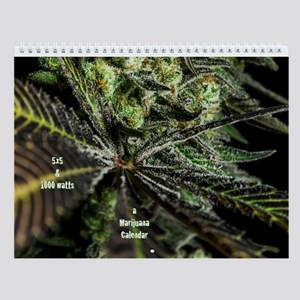 Marijuana Plants A Wall Calendar