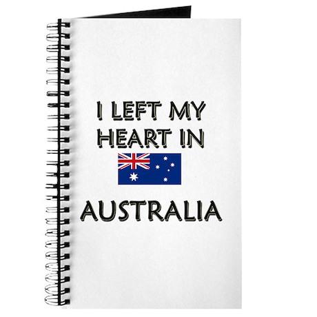 I Left My Heart In Australia Journal
