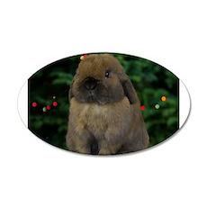 Christmas Bunny Wall Sticker