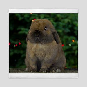 Christmas Bunny Queen Duvet