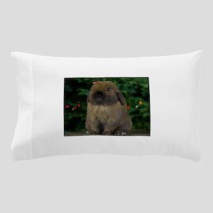 Christmas Bunny Pillow Case