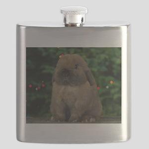 Christmas Bunny Flask