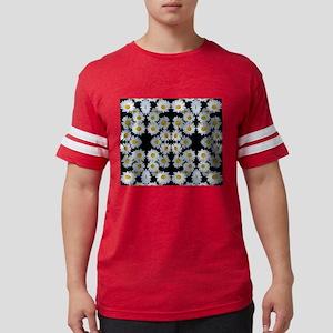 90s vintage floral Mens Football Shirt