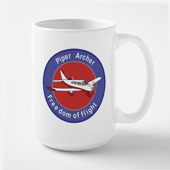 Piper Archer Abzeichen Stoffaufnaher Badges Piper